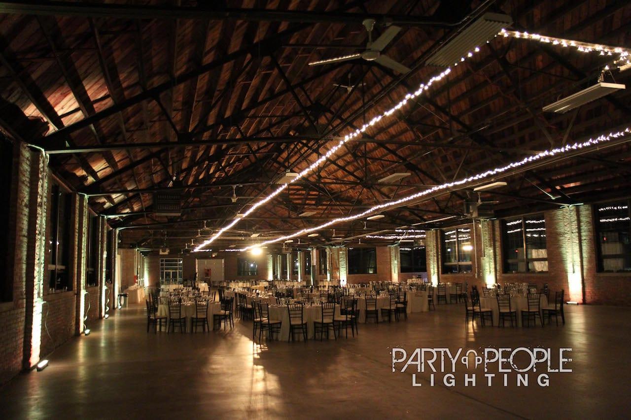 Lake County Industrial Building Partypeople Dj Lighting